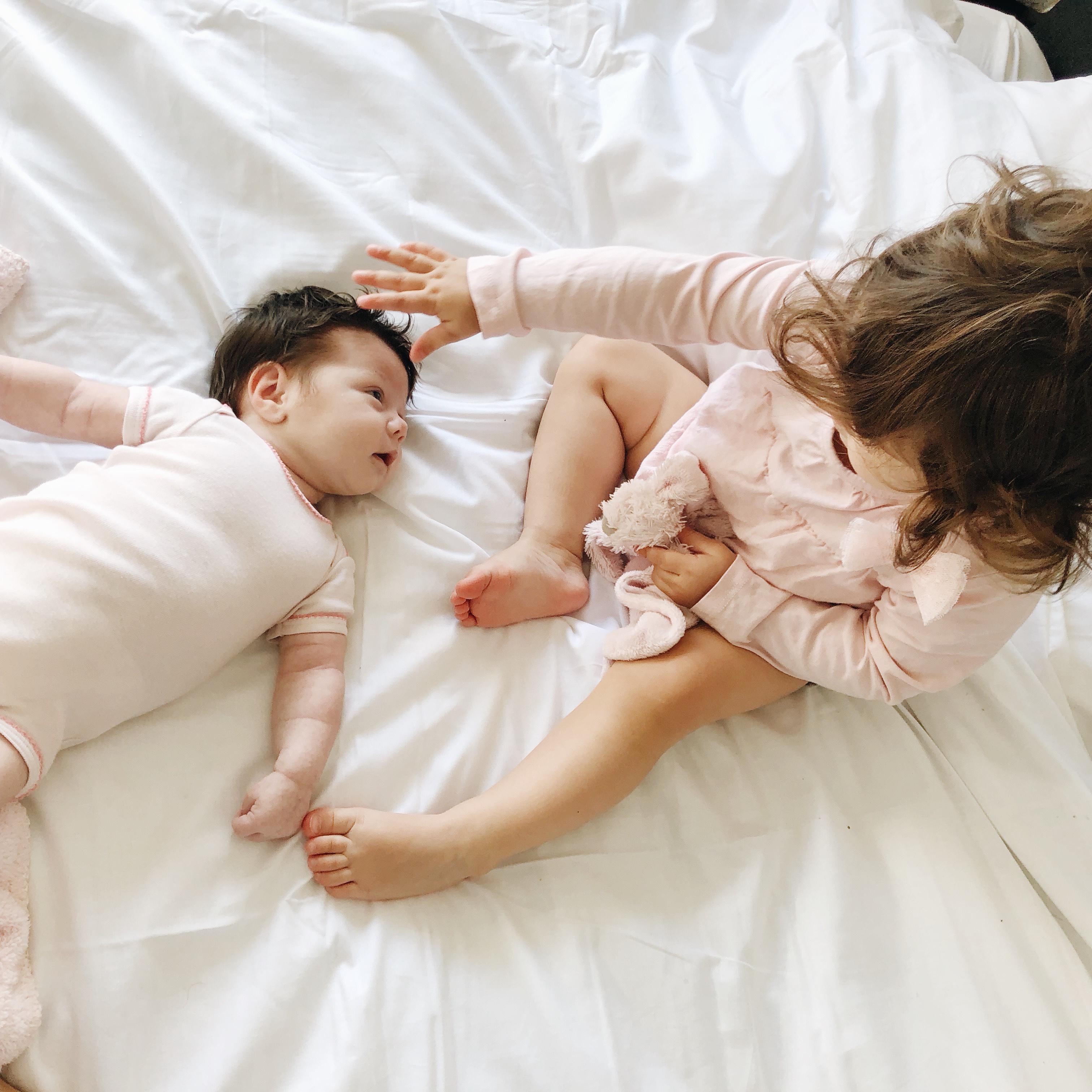 De overgang van 1 naar 2 kinderen: hoe gaat het?
